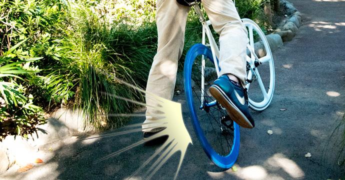 富山 パンクを修理してくれる自転車屋さん