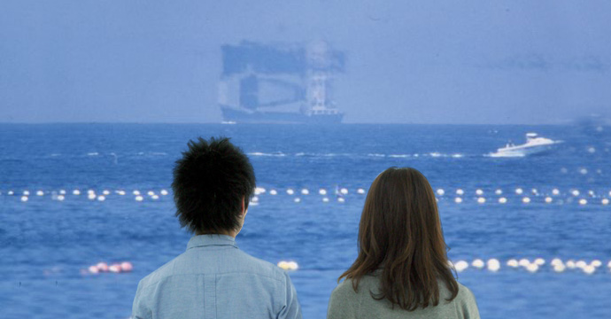 魚津で蜃気楼(しんきろう)を見る方法