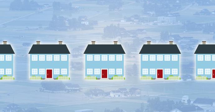 富山県民の持ち家率と生活水準